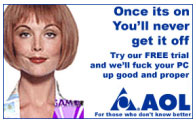 aol once its on you'll never get it off