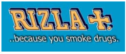 rizla because you smoke drugs